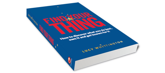 Find Your Thing Book by Lucy Whittington