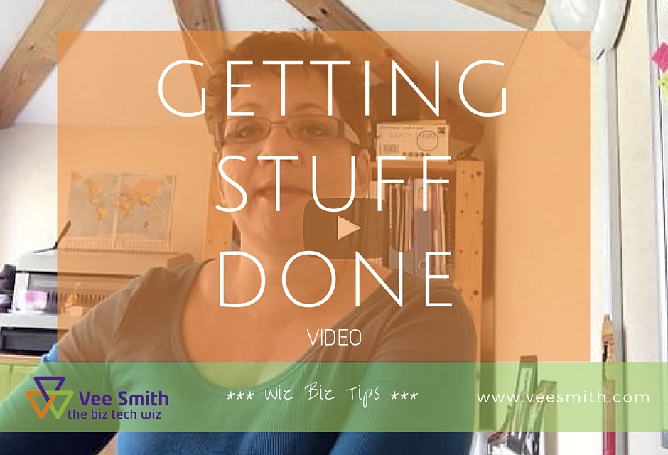 Getting stuff done - video