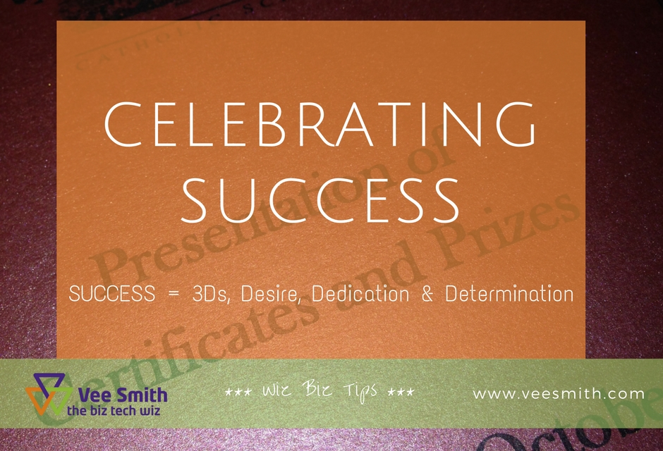 Celebrating success and overcoming difficulties