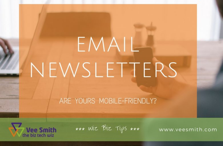 mobile friendly newsletters