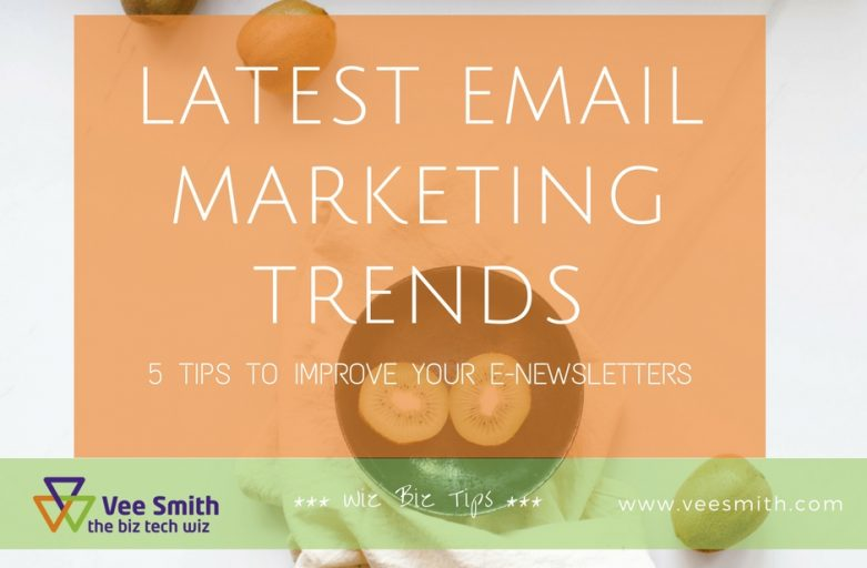 Latest email marketing trends