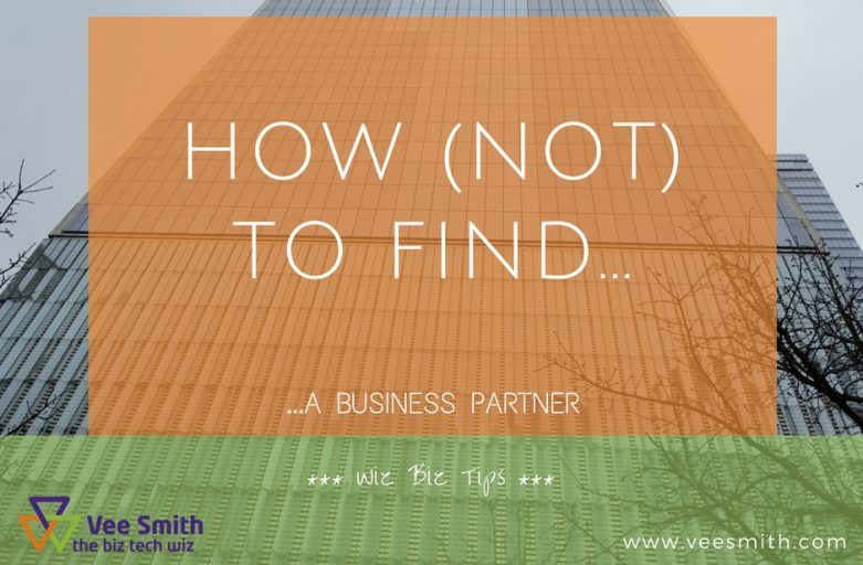 The Apprentice - how not to find a business partner