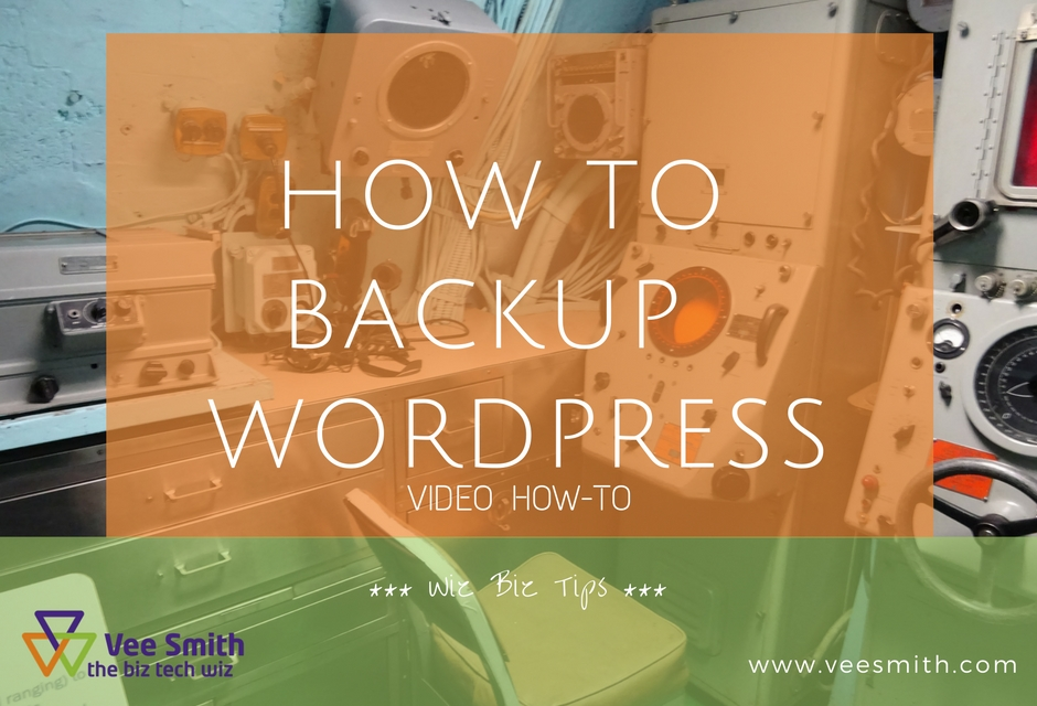 How to back-up WordPress websites (video)