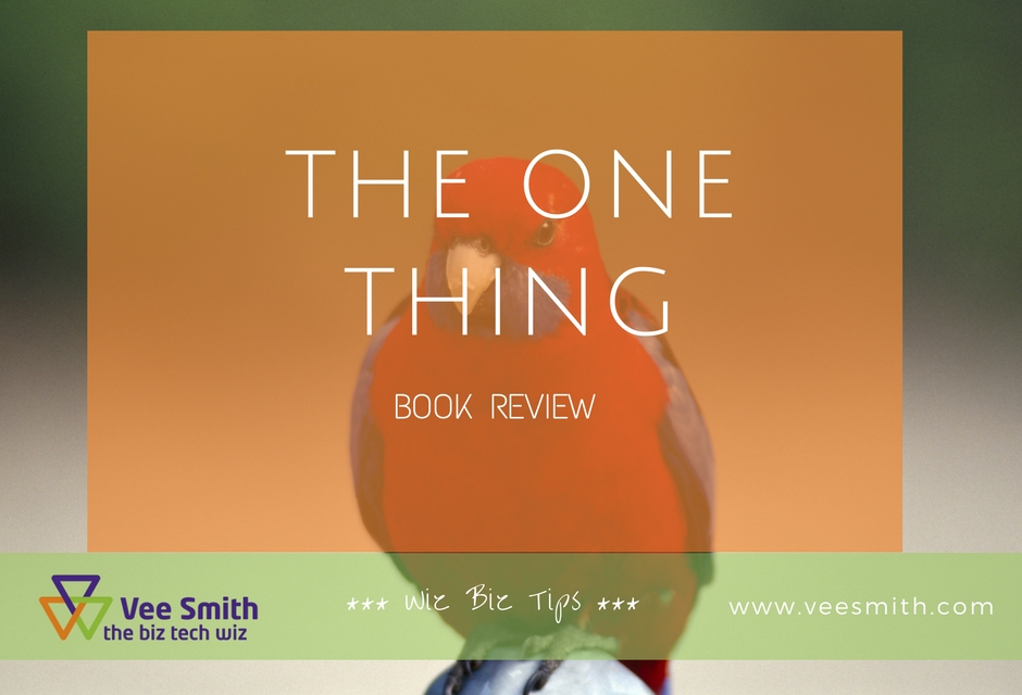 The One Thing (book review)