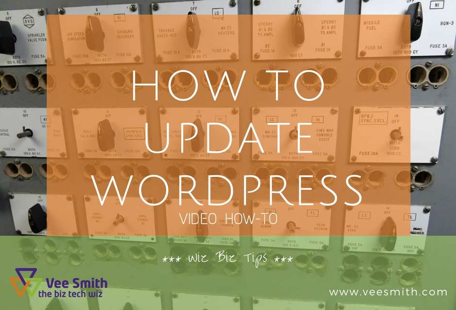 How to update your WordPress website (video)