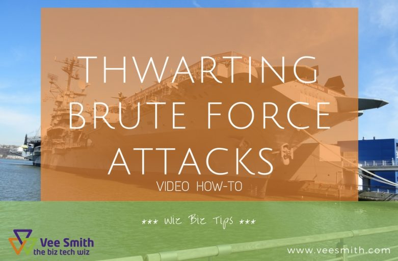 Thwarting brute force attacks