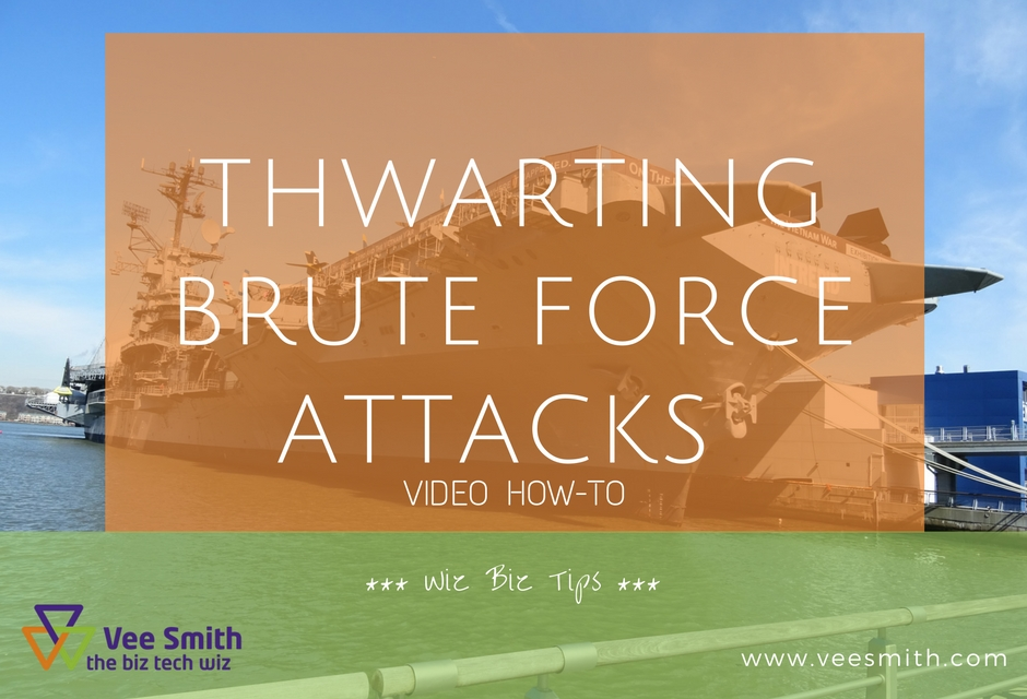 Thwarting Brute Force Attacks on your WordPress Website