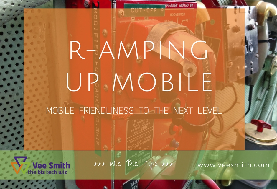 R-Amping up Mobile Friendliness