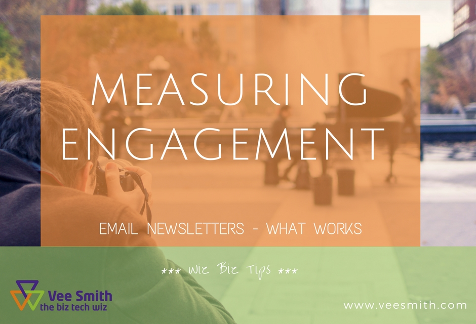 Email Newsletters – what works (measuring engagement)