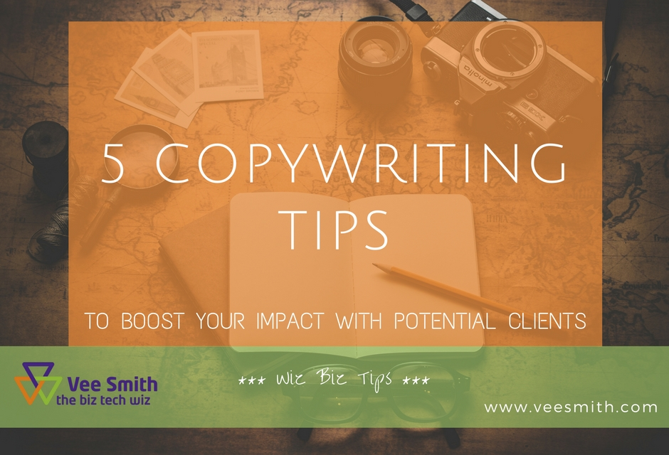 5 Website Copywriting Tips