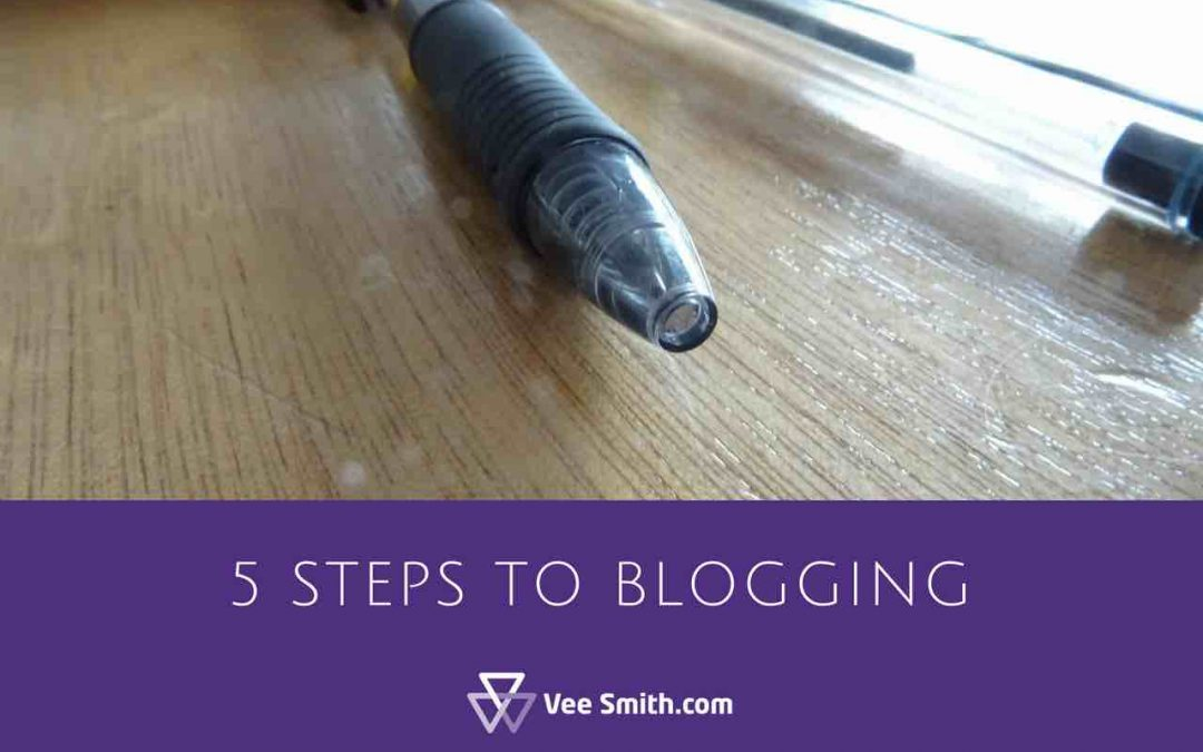 5 steps to blogging