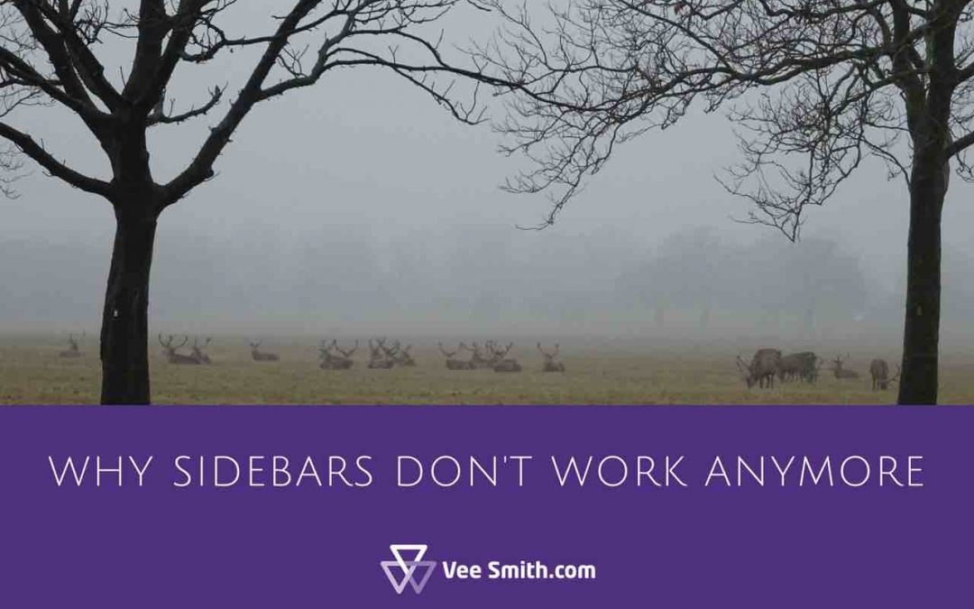 Why sidebars don't work on homepages anymore