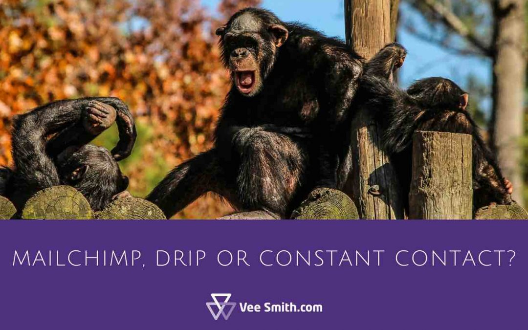 What's best? Mailchimp, Constant Contact, Drip