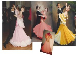 From ballroom dress to web designer