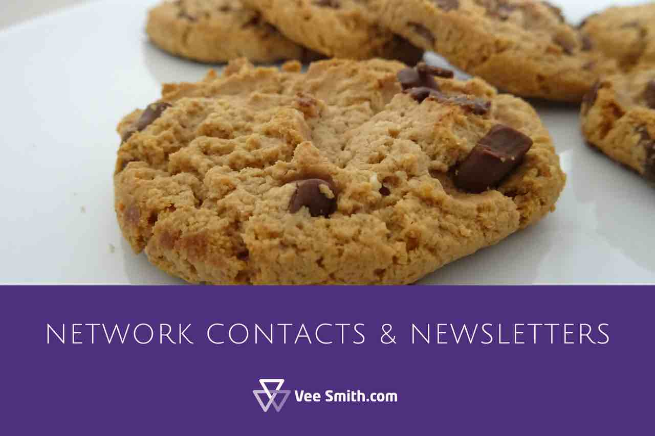 adding network contacts to newsletters