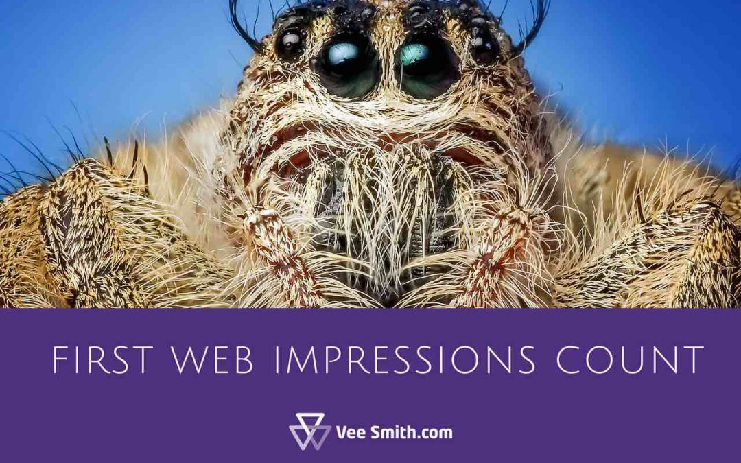 first web impressions count