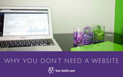 Why You Don't Need a Website
