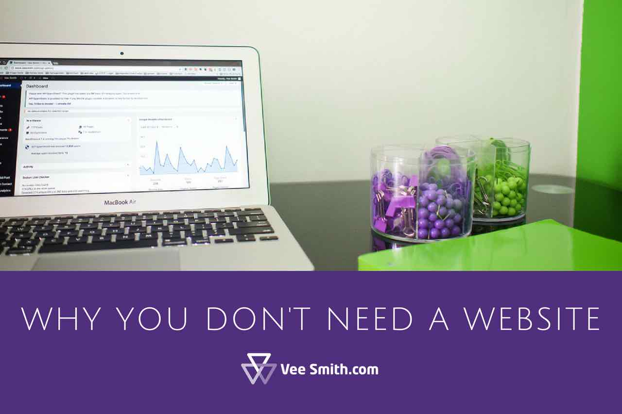 why you dont need a website