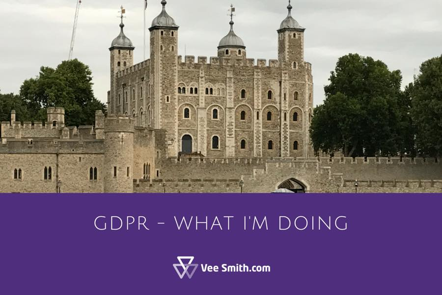 What I'm doing about GDPR