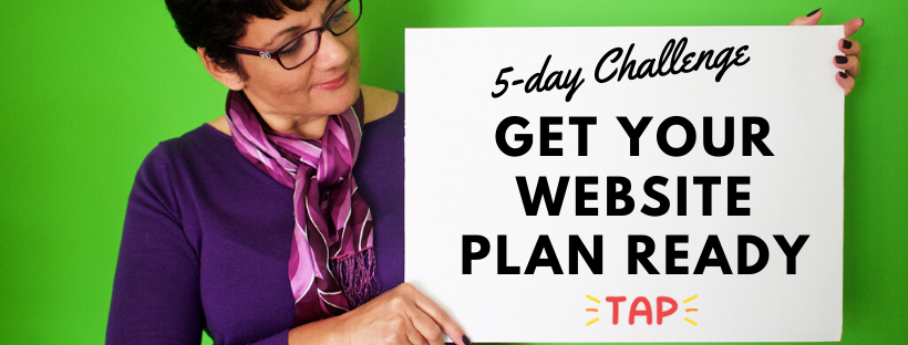 Get your website plan ready