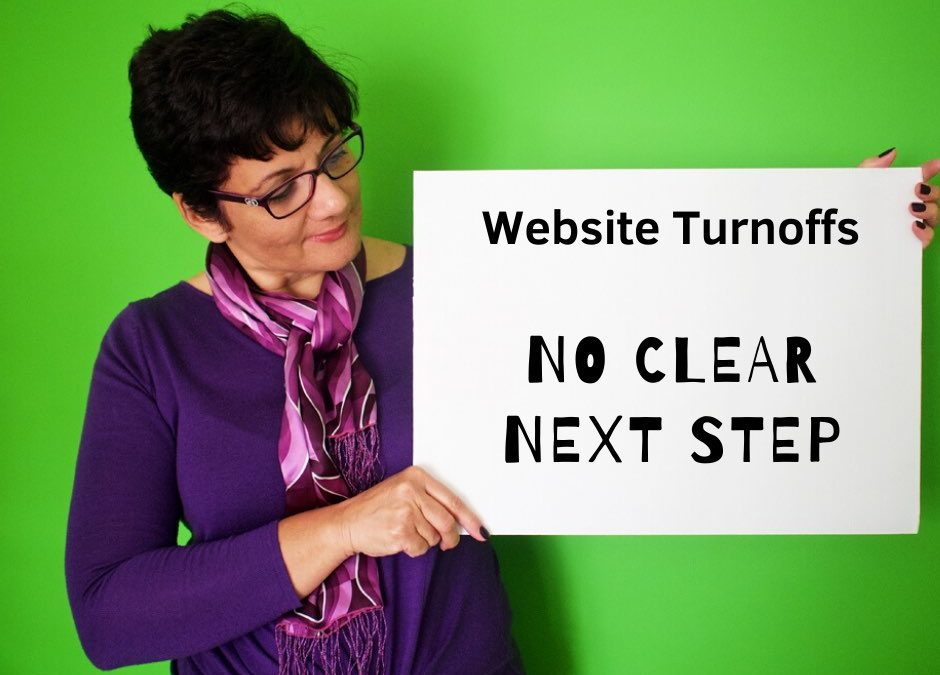 Website Mistakes and Turn Offs | 04 | No Clear Next Step