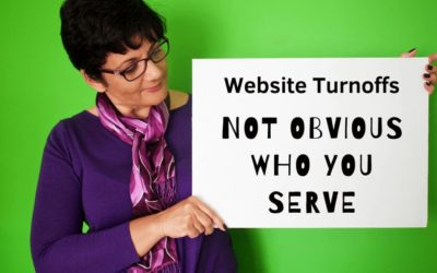 Website Mistakes   02   Not Clear About Who You Serve